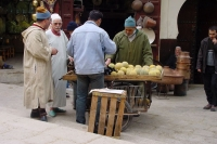 Picture of Fruit stand in Fs - Morocco