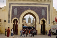Foto van City gate in Fés - Morocco