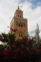 Picture of Minaret in Marrakech - Morocco