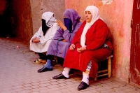 Picture of People in Morocco