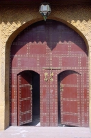 Foto de A door in the old city of Fès - Morocco