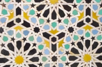 Photo de Colorful wall tiles - Morocco