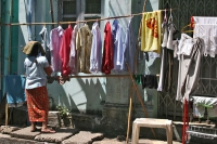 Photo de Laundrymat in Mandalay - Myanmar (Burma)