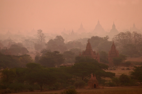 View over Bagan