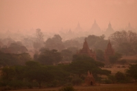 Foto van View over Bagan - Myanmar (Burma)