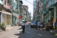 Click to enlarge picture of Streets in Myanmar (Burma)