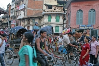 Click to enlarge picture of Streets in Nepal