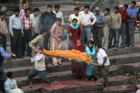 Picture of People at a cremation in Kathmandu - Nepal