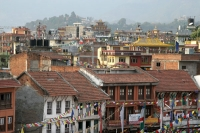 Foto de View over houses in Kathmandu - Nepal
