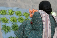 Picture of Vegetables at a vendor in Kathmandu - Nepal