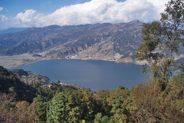 Send picture of Fewa Lake from Nepal as a free postcard