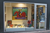 Photo de Shop in Leiden selling artwork - Netherlands