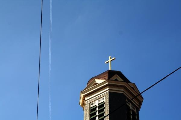 Stuur foto van Detail from Hartebrug Church in Leiden van Nederland als een gratis kaart