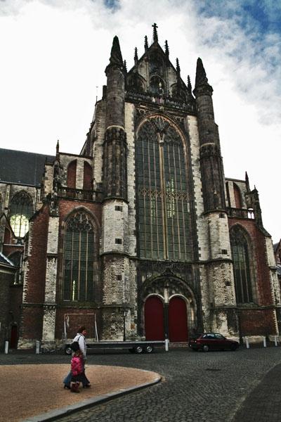 Stuur foto van Hooglandsekerk in Leiden van Nederland als een gratis kaart