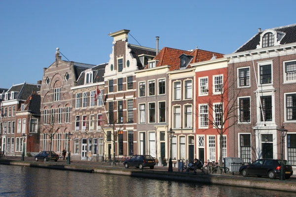 Send picture of Typical Dutch architecture from Netherlands as a free postcard