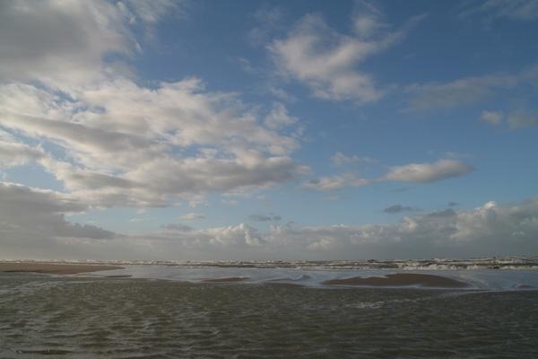 Stuur foto van Beach in southern part of the Netherlands van Nederland als een gratis kaart