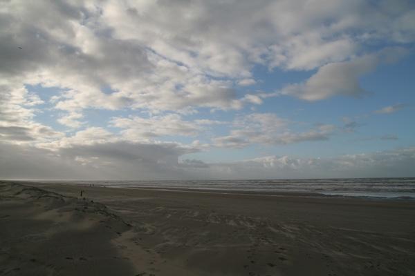 Stuur foto van Beach at Langevelderslag van Nederland als een gratis kaart