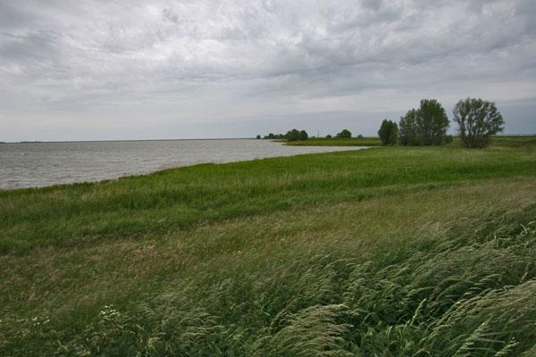 Stuur foto van Lake near Marken van Nederland als een gratis kaart