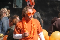 Picture of Man dressed up for Queen's Day - Netherlands