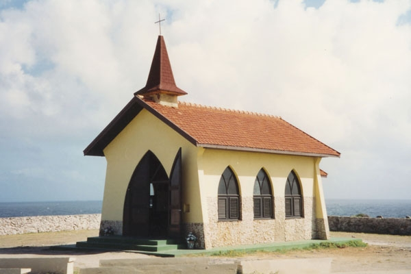 Send picture of Chapel in Curacao from Netherlands Antilles as a free postcard