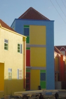 Picture of Colorful Curacao houses - Netherlands Antilles