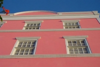 Picture of Pink house facade in Curacao - Netherlands Antilles