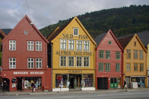  Shopping street in Bergen