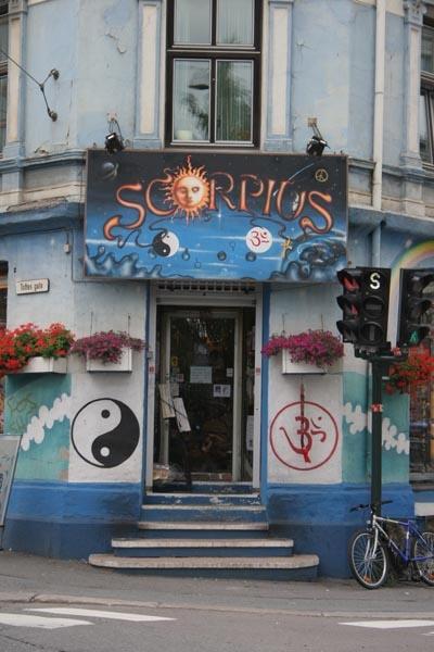 Spedire foto di Shop in Oslo di Norvegia come cartolina postale elettronica