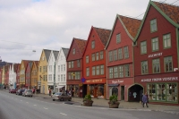 Picture of Street in Bergen - Norway