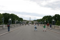 Photo de Street in Vigeland Park - Norway