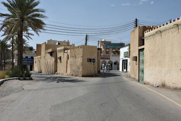 Send picture of Street in Bahla from Oman as a free postcard