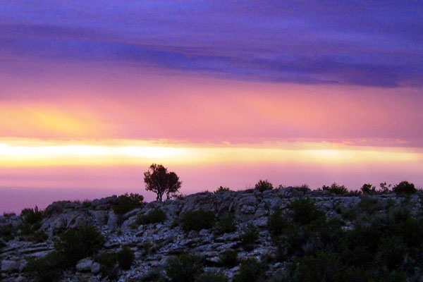 Envoyer photo de Sunrise at Gorakh Hill de Pakistan comme carte postale électronique