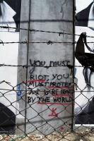 Foto van Writing on the wall, Bethlehem - Palestinian Territories