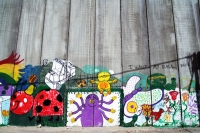 Photo de Wall paintings, Bethlehem - Palestinian Territories