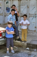 Foto van Palestinian children in the streets of Nablus - Palestinian Territories
