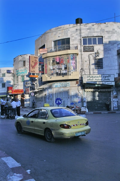 Send picture of Taxi in Nablus from Palestinian Territories as a free postcard
