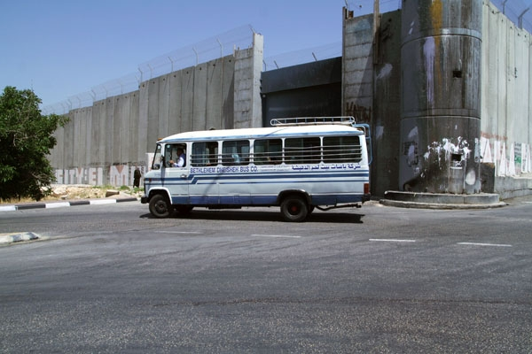 Send picture of Bus in Bethlehem from Palestinian Territories as a free postcard