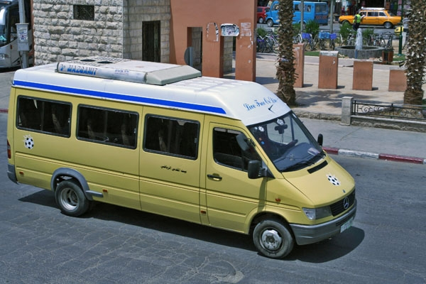 Send picture of Bus in Jericho from Palestinian Territories as a free postcard