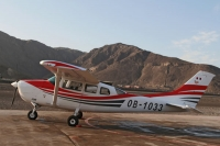 Foto van Cessna plane used to fly over the Nazca lines - Peru