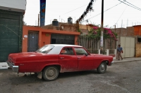 Picture of One of the many big, old American cars you see in Peru - Peru