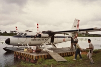 Foto de Water plane from Iquitos, near the Brasilian border - Peru