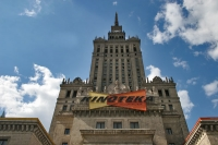 Foto van The cinema of the Palace of Culture - Poland