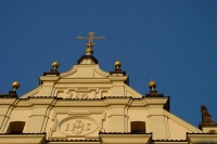 Foto van Detail from church in Warsaw - Poland