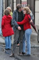 Foto di Couple in the streets of Warsaw - Poland