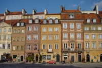 Picture of Central Square in Warsaw - Poland