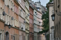 Foto van Apartment buildings in Warsaw - Poland