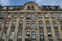 Foto van Apartment building in Praga neighborhood in Warsaw - Poland