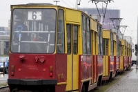 Picture of Warsaw tram - Poland