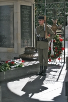 Foto van Guard at the Tomb of the Unknown Soldier - Poland