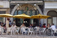 Foto van The famous A Brasileira Caf in Lisbon - Portugal